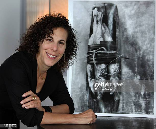 Photographer Francine Zaslow talks about her 'Food Cycles' series on Tuesday October 5 during a G Force portrait session