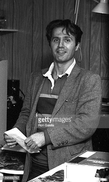 Photographer Gerard Malanga sighted on November 6 1981 at Ron Galella's Office in New York City