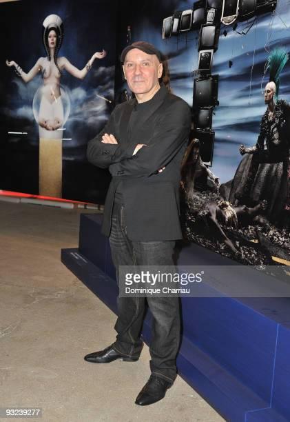 Photographer Gerard Rancinan attends the Exhibition Launch in Palais de Tokyo at Palais De Tokyo on November 19 2009 in Paris France