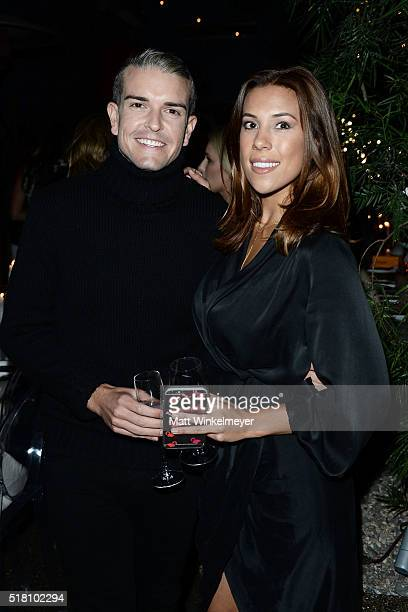 Photographer Gray Malin and blogger Devin Brugman attend the Bollare 10 Year Anniversary Dinner Celebration at Palihouse West Hollywood on March 29...