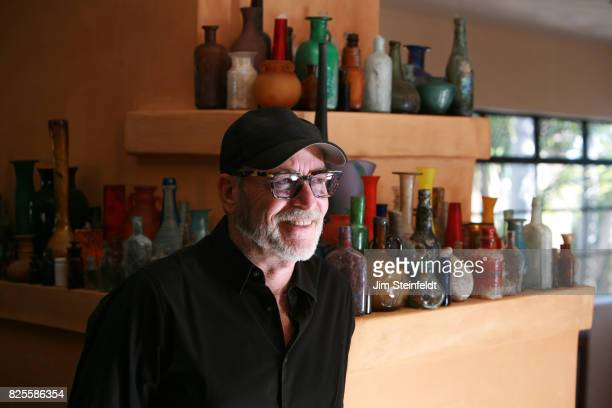 Photographer Greg Gorman poses for a portrait at his home in Los Angeles California on July 25 2017