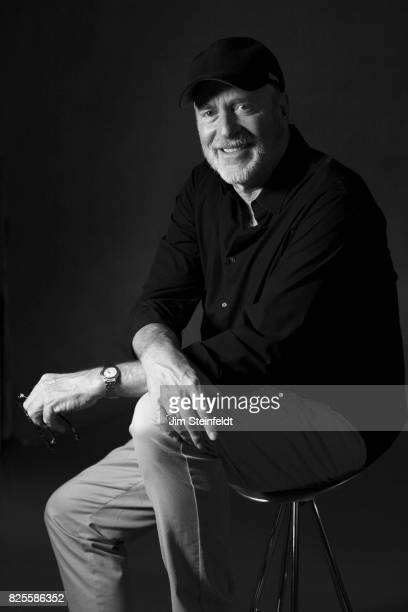 Photographer Greg Gorman poses for a portrait at his studio in Los Angeles California on July 25 2017