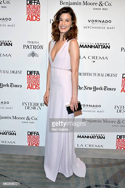 Photographer Hanneli Mustaparta attends DIFFA's 17th Annual Dining By Design New York Gala at Pier 94 on March 24 2014 in New York City
