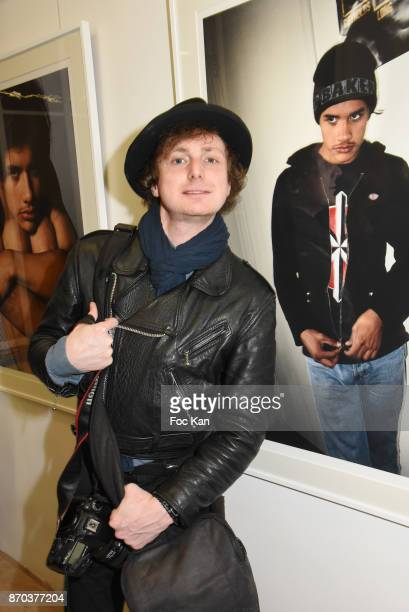 Photographer Hannibal Volkoff attends the Larry Clark and Jonathan Velasquez Photo Exhibition as part of Larry Clark Photos Paintings Exhibition And...