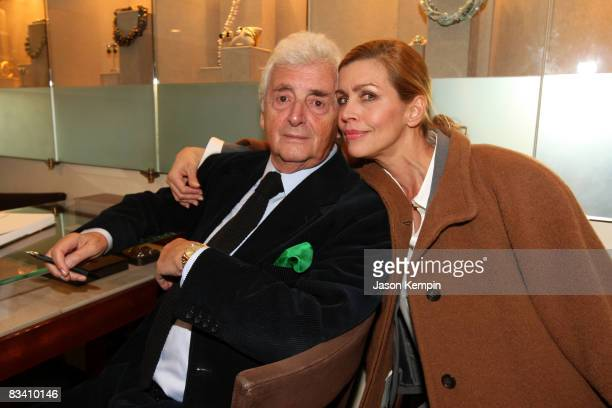 Photographer Harry Benson and Debbie Dickinson attend a special event hosted by David Yurman and Architectural Digest Celebrating Harry Benson's...