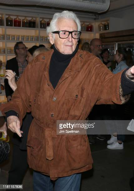 """Photographer Harry Benson attends the special screening of """"Frankie"""" hosted by Sony Pictures Classics and The Cinema Society at Metrograph on October..."""