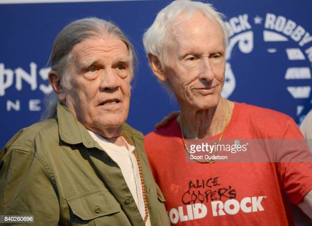 Photographer Henry Diltz and musician Robby Krieger of The Doors attend the 10th annual Medlock Krieger All Star Concert benefiting St Judes...