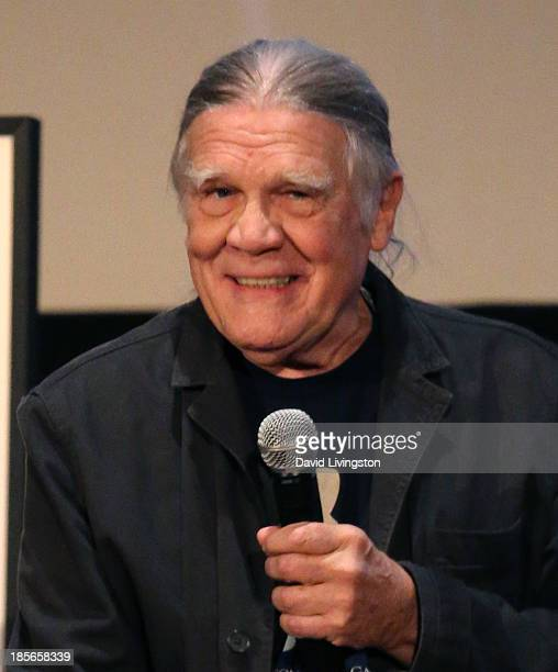 Photographer Henry Diltz attends Genesis Publications unveiling of Photograph by Ringo Starr at ArcLight Cinemas on October 23 2013 in Hollywood...