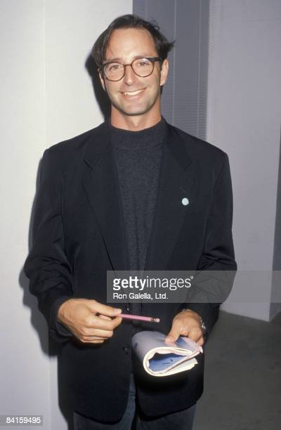 Photographer Herb Ritts attends Angel Art Benefit for AIDS Research on May 20, 1990 at Ace Gallery in Los Angeles, California.