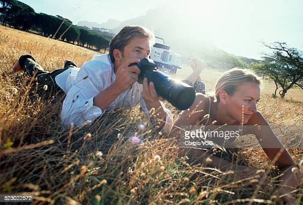 Photographer in Africa