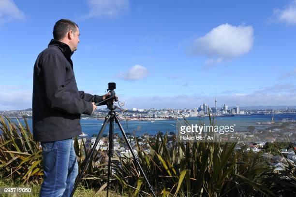photographer in auckland new zealand - rafael ben ari stock-fotos und bilder
