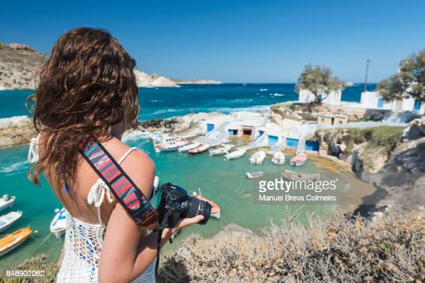Photographer in Greece