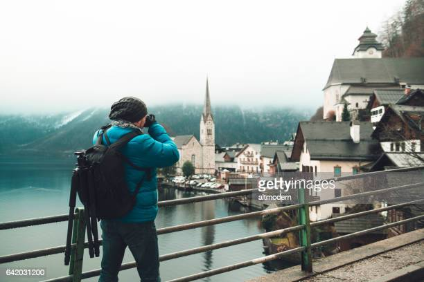 Fotograf in Hallstatt Österreich