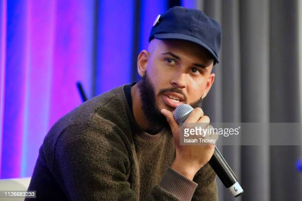 Photographer Jamal Burger attends the 5th Annual Black Arts and Innovation Expo at Toronto's Arcadian Court on February 21 2019 in Toronto Canada