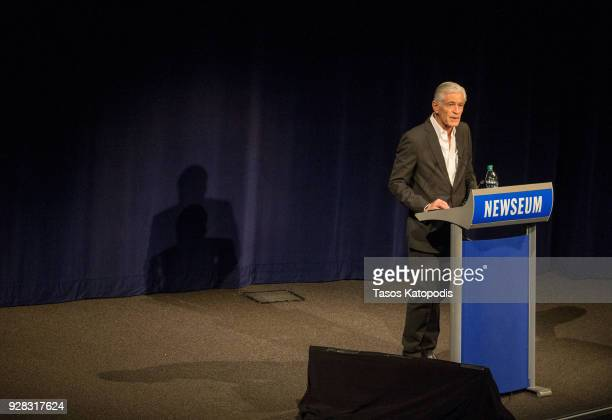 Photographer James Nachtwey speaks at the Newsuem TIME Presents The Opioid Diaries on March 6 2018 in Washington DC