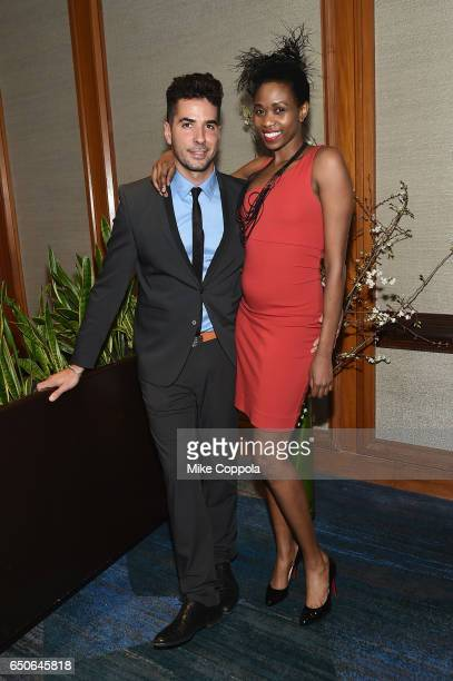 Photographer Javier Gomez and model Camilla Barungi attends UCP of NYC 70th Anniversary Gala on March 9 2017 in New York City