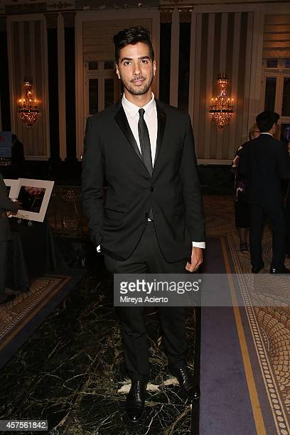 Photographer Javier Gomez attends 2014 Moving Families Forward Gala at The WaldorfAstoria on October 20 2014 in New York City