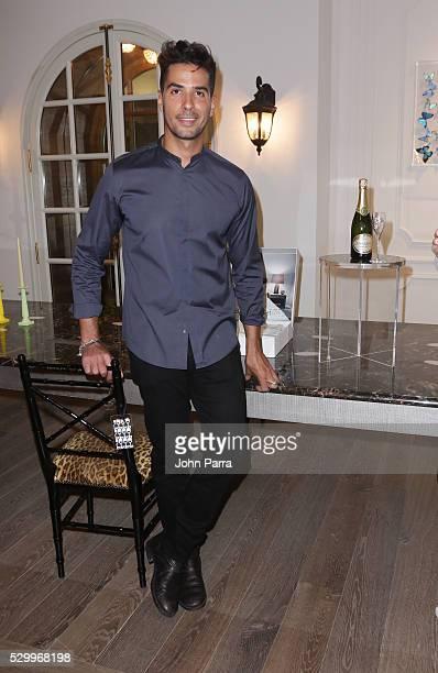 Photographer Javier Gomez attends Maison Montaigne Celebrates Flagship Store In Miami's Design District Sponsored By PerrierJouet at Maison Montaigne...