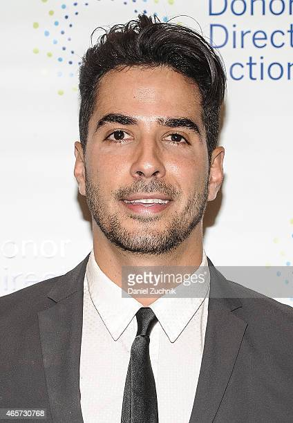 Photographer Javier Gomez attends the Donor Direct Action Launch Party at Ford Foundation on March 9 2015 in New York City