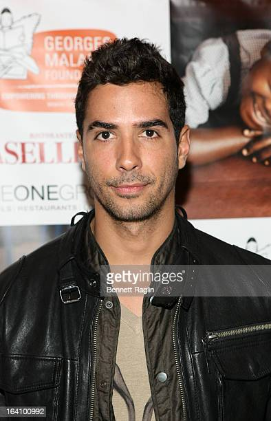 Photographer Javier Gomez attends 'The Rise Of Congo' Fundraiser at Asselina on March 19 2013 in New York City