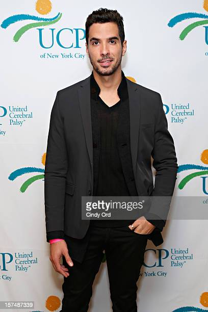 Photographer Javier Gomez attends the Santa Project Party benefiting United Cerebral Palsy Of New York City at Bar Baresco on December 3 2012 in New...