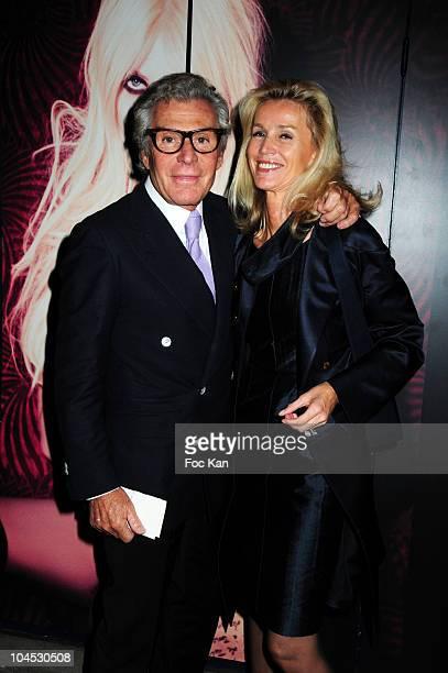 Photographer Jean Daniel Lorieux and lawyer Laura Restelli Brizard attend The 'Parlez Moi D'amour' John Galliano 'Eau de Toilette' Launch by Taylor...