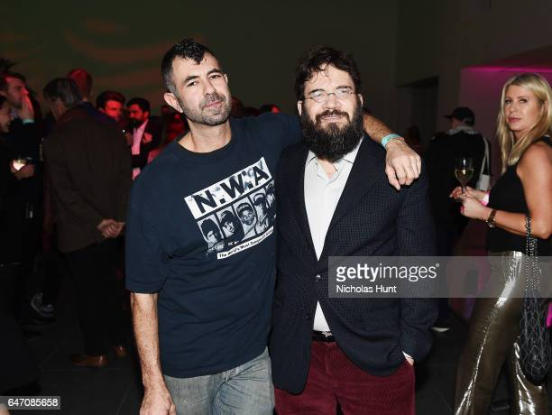 Photographer Jeremy Kost and Philip Munger Performs at The 2017 Armory Party at The Museum of Modern Art on March 1 2017 in New York City