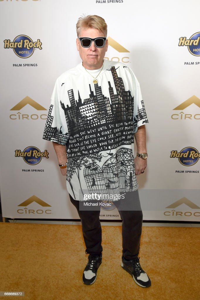 Photographer Joe Simpson celebrates a Toast to Summer with the NEW Limited Edition CIROC Summer Colada at the Hard Rock Hotel Palm Springs on April 14, 2017 in Palm Springs, California.