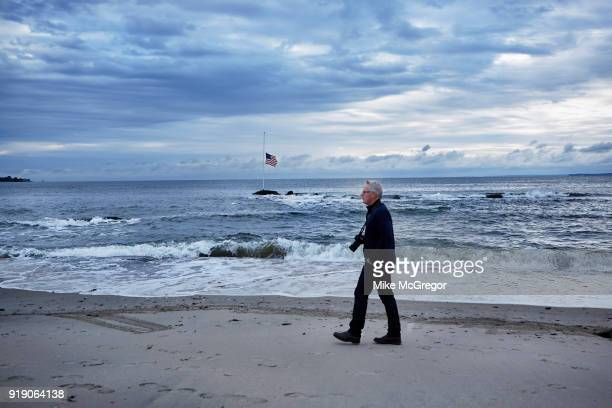 Photographer John Moore is photographed for Psychology Today on August 30 2017 in Stamford Connecticut PUBLISHED IMAGE