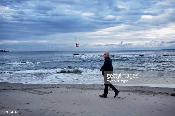 Photographer John Moore is photographed for Psychology Today on August 30 2017 in Stamford Connecticut