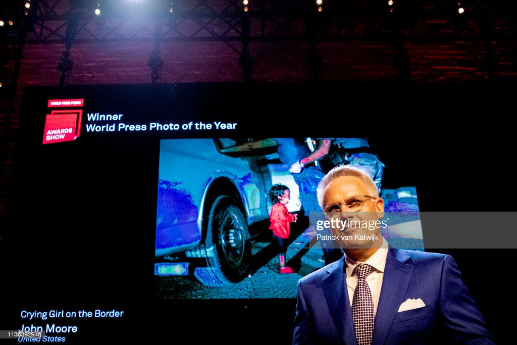 NLD: Prince Constantijn Of The Netherlands and Princess Laurentien Attend World Press Photo Award Ceremony In Amsterdam