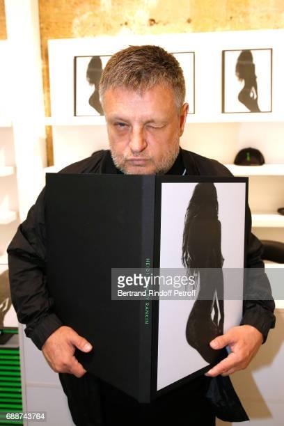 Photographer John Rankin Waddell aka Rankin attends 'Heidi Klum by Rankin' Heidi Klum Rankin launch book at Supra Paris Store on May 26 2017 in Paris...