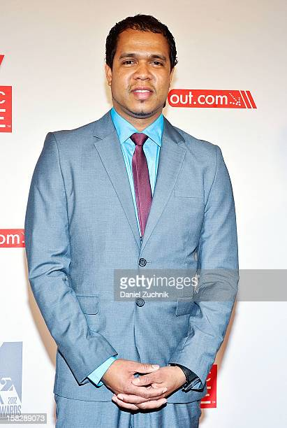 Photographer Johnny Nunez attends the 2012 Mirror Mirror Awards at The Union Square Ballroom on December 12 2012 in New York City