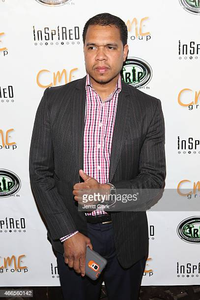Photographer Johnny Nunez attends the Inspired In Music Event Honoring Johnny Nunez Ralph McDaniels Funkmaster Flex at Katra Lounge on March 10 2015...