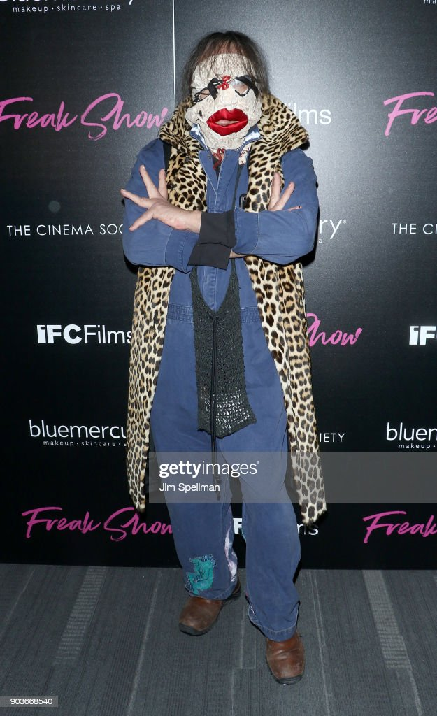 "The Cinema Society & Bluemercury Host The Premiere Of IFC Films' ""Freak Show"" : News Photo"