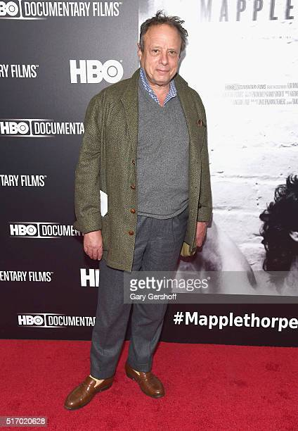 Photographer Jonathan Becker attends the Mapplethorpe Look At The Pictures New York premiere at Time Warner Center on March 22 2016 in New York City