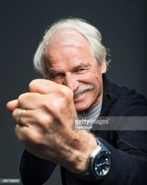 Photographer journalist and environmentalist Yann ArthusBertrand is photographed for Sueddeutsche Zeitung magazine in Munich Germany