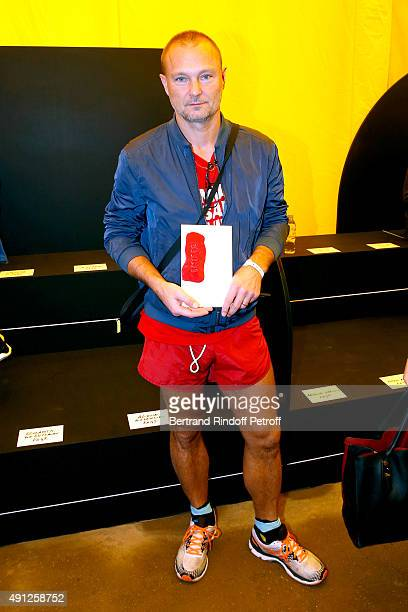 Photographer Juergen Teller attends the Celine show as part of the Paris Fashion Week Womenswear Spring/Summer 2016 on October 4 2015 in Paris France