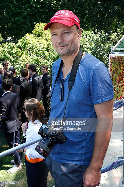 Photographer Juergen Teller attends the Christian Dior show as part of Paris Fashion Week Haute Couture Fall/Winter 2015/2016 on July 6 2015 in Paris...