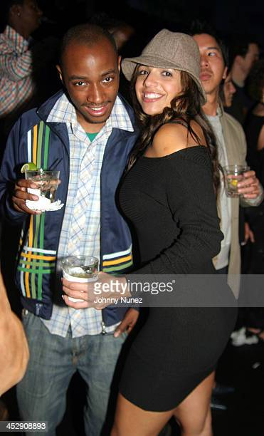 Photographer Kareem Black and Vida Guerra during Kenny Burns and Little X's Birthday Party at NA in New York New York United States
