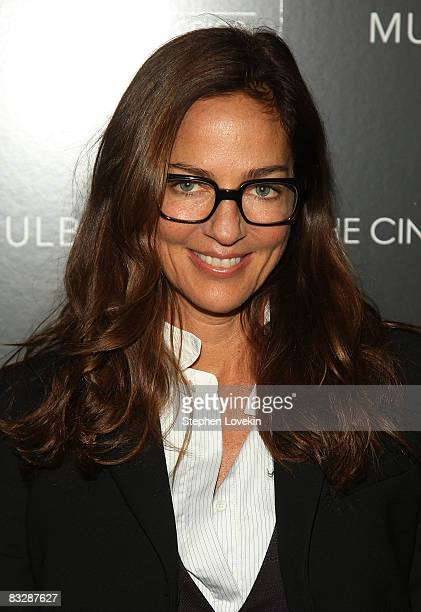 Photographer Kelly Klein attends The Cinema Society and Mulberry screening of Synecdoche New York at AMC Loews 19th Street East on October 15 2008 in...
