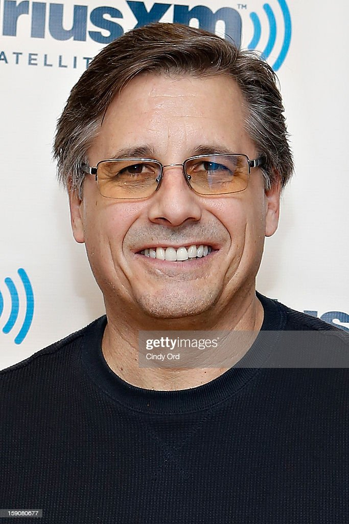 Photographer Kevin Mazur, director of '$ellebrity,' visits the SiriusXM Studios on January 7, 2013 in New York City.