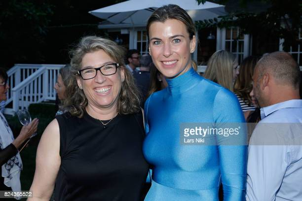 Photographer Lauren Greenfield and Producer Lilly Hartley attend The Hamptons International Film Festival SummerDocs series screening of Trophy on...