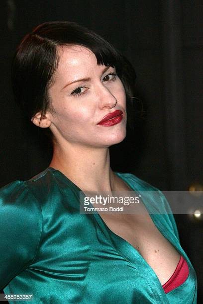 Photographer Lindsay Usich attends the GenArt Screening Series presents Wrong Cops held at the Vista Theatre on December 11 2013 in Los Angeles...