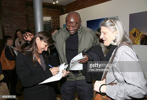 Photographer Lynsey Addario attends the Lynsey Addario's Book Launch Party 'It's What I Do' on February 6 2015 in New York City
