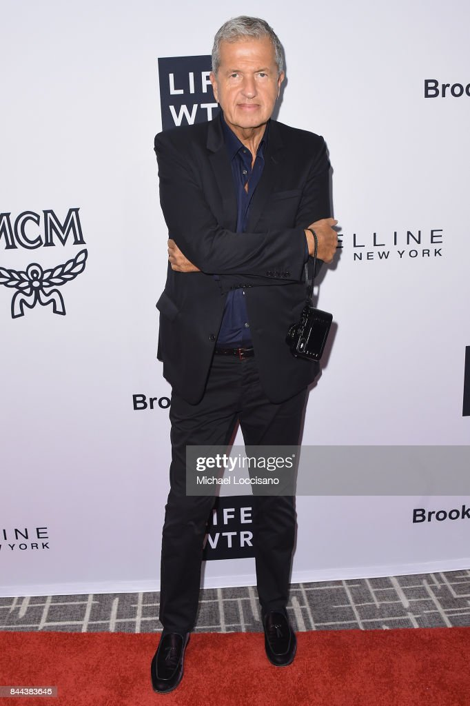 Photographer Mario Testino attends the Daily Front Row's Fashion Media Awards at Four Seasons Hotel New York Downtown on September 8, 2017 in New York City.