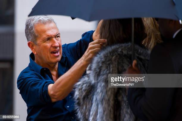 Photographer Mario Testino is seen in NoHo on June 10 2017 in New York City