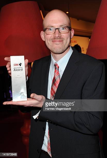 Photographer Martin Schlueter attends the CNN Journalist Award 2012 at the GOP Variete Theater on March 27, 2012 in Munich, Germany.