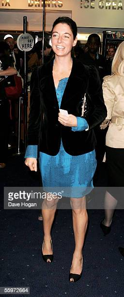 """Photographer Mary McCartney arrives at the UK Premiere of """"Elizabethtown"""" as part of The Times BFI London Film Festival, at the Odeon West End on..."""