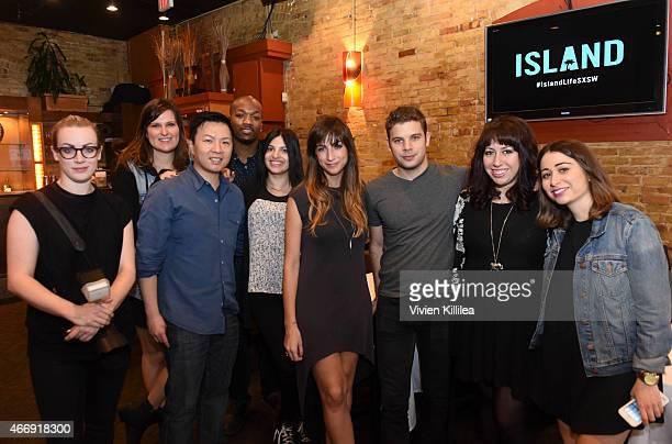 Photographer Meredith Truax Senior Director of Brand Partnerships at Island Records Abby Vergote EVP / GM of Island Records Eric Wong Director of...
